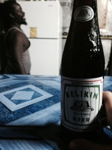 The beer of Belize - I prefer stout.